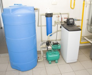 Water filtering system. Making clear potable water
